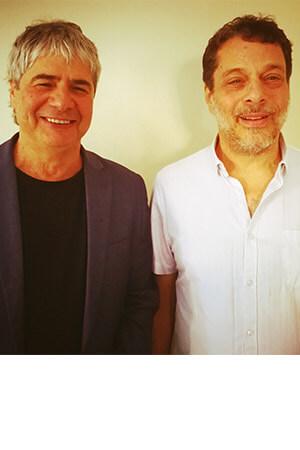 גיא מרוז ודניאל לפין - מרכז המרצים לישראל